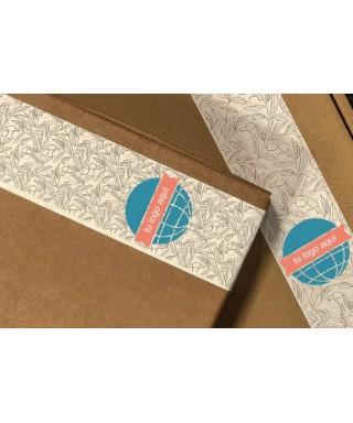 Caja regalo personalizada. Con tu logo en la etiqueta