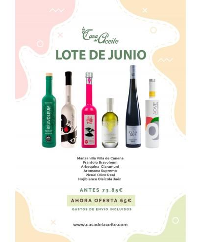 OFERTA Lote de Aoves Junio