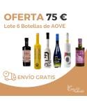 Lote 6 Botellas AOVE Marzo